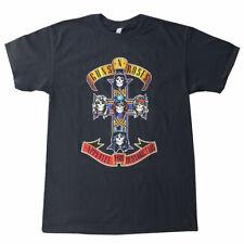 Guns N' Roses Appetite For Destruction - Classic Cross Logo - Men's Metal T-S...