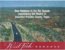 TEXAS Presidio Large ranch by Rio Grande River SW Texas 60 ac