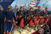 American Civil War Zouaves - 28mm figures Perry ACW70 – free post
