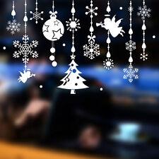 Ángel de Navidad Colgante Decoración Pegatinas Ventana Pegatinas de pared Hazlo tú mismo Impermeable