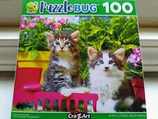 New 100 Piece Jigsaw Puzzle (Bacyard Buddies) Great for Kids and Adults!