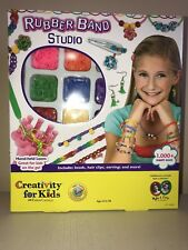 RUBBER BAND STUDIO Creativity for Kids Faber Castell ages 8+