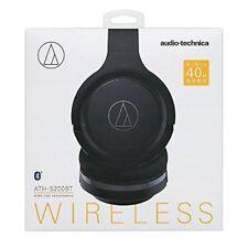 audio-technica Bluetooth Wireless Headphone Black ATH-S200BT Japan Free Shipping