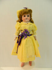 "Ufdc 001-2021 Heubach bisque 14"" doll"