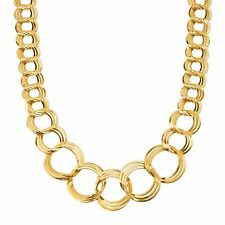 """Round Tubular 16-18/"""" Antiqued Bronze Plated Mesh 3mm Necklace Chain"""
