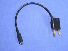NAGRA III ADAPTOR TO 3.5 JACK SOCKET OUTPUT TO STEREO HEADPHONE