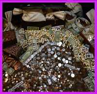 OLD ESTATE SALE GOLD .999 SILVER BULLION RARE US COINS MONEY MIXED LOT DOLLAR 🔥