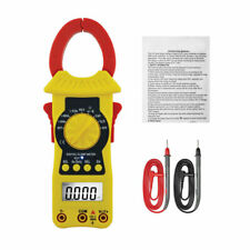 Digital Clamp Meter AC DC Current Auto Range 3999 Counts True RMS Handheld Tool