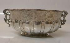 Rare 18th Century Mexico / Spanish Colonial Silver Handmade Bowl-Museum Quality