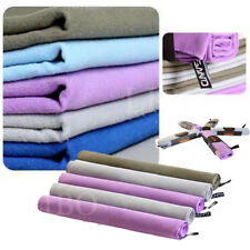 Travel Cool Comfortable Microfiber Towel Outdoor Sports Quick Drying Camping Gym
