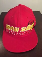 Iron Man Baseball Hat Cap 9Fifty New Era Raised Letters Snapback