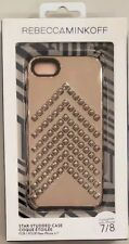 Rebecca Minkoff Star-Studded Case for Apple iPhone 7 / 8 - Rose Gold - NEW