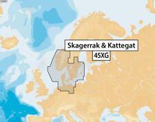 Navionics + 45xg Skagerrak & Kattegat, scheda CF