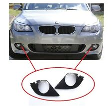 BMW 5 E60 E61 2003-2010 M SPORT FRONT Left Right  FOG LIGHT COVERS TRIM GRILLS