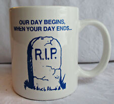 PHIA PA Homicide Investigators Association coffee mug Our Day Begins police