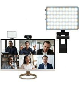 Humancentric Video Conferencing Light Kit with webcam mount NIB