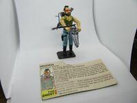 GI Joe 1985 Ripper Figure ''Complete''
