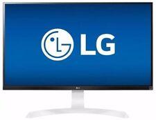 """LG - 27UD69P-W 27"""" IPS LED 4K UHD FreeSync Monitor - Black/white (OB)"""