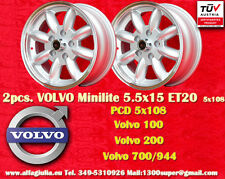 2 Cerchi Volvo  100, 200, 700, 900 5.5x15 5x108  Wheels Felgen Llantas Jantes