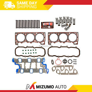 Head Gasket Set Bolts Lifters Fit 95-96 Ford Explorer Ranger Aerostar Mazda 4.0