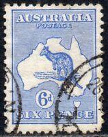 1913 Australia Sg 9 6d ultramarine (Die II) Fine Used