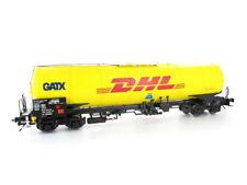 MTH Pat 22-90949 G wagons citerne zans GATX DHL piste 0