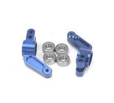 Blue Aluminum Rear Hub Carriers for Traxxas Slash 2WD # ST3652B Rustler Stampede