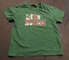 Ben Sherman Boys' Green Short Sleeved T-Shirt Age 2-3 Years Preowned