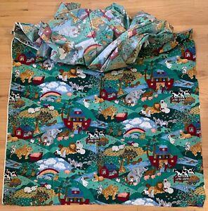 Cranston Quilting Fabric, Noah's Ark Print, 44 x 280, unused