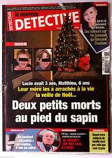 """DETECTIVE du 17/12/2014; En voulant """"cramer"""" sa copine, il tue sa mère/ Médecin"""