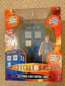 7y David Tennant 10th Doctor Who TARDIS Light & Sound Electronic Flight Control