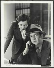 Walter Winchell Patsy Kelly Original 1930s Promo Photo Wake Up and Live