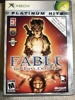 XBOX Fable: The Lost Chapters Platinum Hits Disc Only