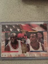Michael Jordan UDA Jumbo oversized Passing The Torch 1099/5000
