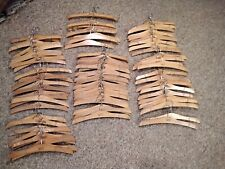 85 Christopher & Banks Wooden 16 inch Hangers Most Wiith Non Slip Shoulders.