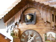 New Original Black Forest Cuckoo Clock, with Weather-House,  Quartz Incl Batt!