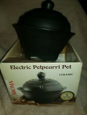AROMA Pot aroma diffuser Electric pot pourri pot ceramic new.
