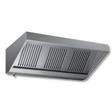 Cappa 200x90x45 acciaio inox Snack motore cucina ristorante RS7221