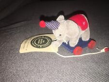 Nwt Retired Boyds Squirt M. Stringalong, Plush Elephant, 3""