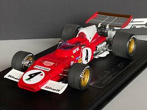 1/18 GP REPLICAS GP31A Ferrari 312 B2 #4 Jacky Ickx 1972 OVP + NEU
