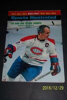 1973 Sports Illustrated MONTREAL CANADIANS Henri RICHARD No Label STANLEY CHAMPS
