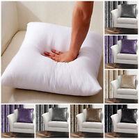 "Assorted Cushion Cover Crush Velvet Pattern Plains Stylish 5 Colors 18x18"""