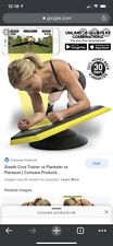 Stealth Body Fitness Dynamic Core Trainer & Full Body Workout Plankster (Yellow)