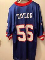 New York Giants Jersey - Lawrence Taylor #56 - Reebok Throwbacks - Men's XL