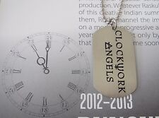 RUSH Clockwork Angels Dog Tag Pendant with chain