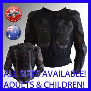 ADULT'S AND CHILDREN'S BODY ARMOUR Motocross ATV Motox Downhill BMX Bike Armor