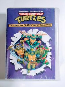Teenage Mutant Ninja Turtles The Complete Classic Series Collection DVD New Seal