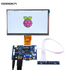 7 inch LCD Panel Digital Screen and Drive Board(HDMI+VGA+2AV) for Raspberry Pi 4