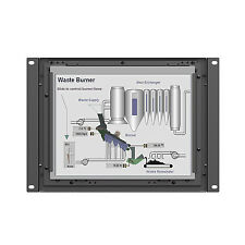 """LILLIPUT TK970-NP/C/T 9.7"""" 1024X768 IPS Metal  Open Frame 5 wire Touch screen"""