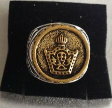 F-MIDDLE EAST,STUNNING IMPERIAL CROWN RING,SIZE UK O,US AND CANADA 7 1/4.9.5 GR